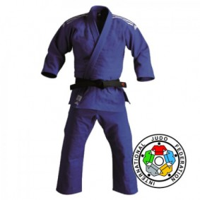 IJF approved Judo Suits - Judo Suits - kopen - Adidas Champion II IJF 2015 Approved Judo Suit Blauw