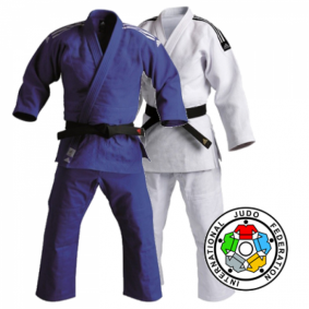 IJF approved Judo Suits - Judo Suits - kopen - Adidas Champion II IJF 2015 Approved Judo Suit | Duonack With Extra Benefit