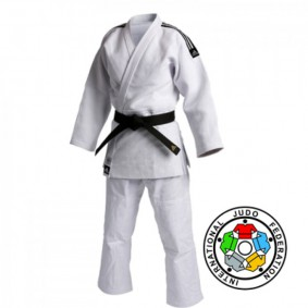 IJF approved Judo Suits - Judo Suits - kopen - Adidas Champion II IJF 2015 Approved Judo Suit White