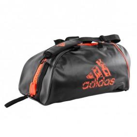 Sports Bags - Judo Bags - kopen - Adidas Judo Bag / Judo Backpack 2 In 1 Zwart/orange Medium Temporarily Sold Out