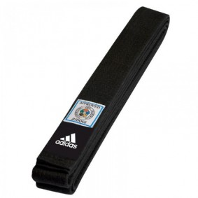 Black Judo Belts - Judo Belts - kopen - Adidas Judo Belt Elite Black IJF