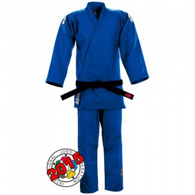 IJF approved Judo Suits - Judo Suits - kopen - Essimo IJF Gold 2017 Model Blue Slim Fit