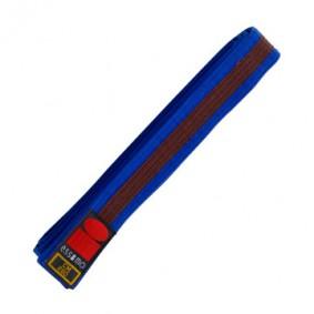 Blue Judo Belts - Judo Belts - kopen - Essimo Judo Belt Bicolor Blauw/bruin
