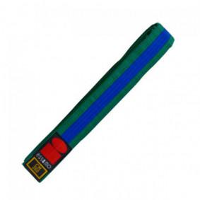 Green Judo Belts - Judo Belts - kopen - Essimo Judo Belt Bicolor Groen/blauw