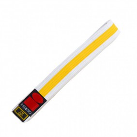 Judo Belts - White Judo Belts - kopen - Essimo Judo Belt Bicolor White/yellow