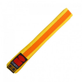 Judo Belts - Yellow Judo Belts - kopen - Essimo Judo Belt Bicolor Yellow/orange