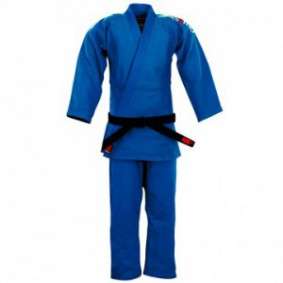 Essimo Judo Suits - Judo Suits - kopen - Essimo Judo Suit Ippon Blue Slimfit