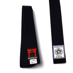 Brown Judo Belts - Judo Belts - kopen - Fighting Films IJF Approved Judo Belt Black Or Bruin