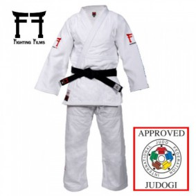 IJF approved Judo Suits - Judo Suits - kopen - Fighting Films Superstar 750 IJF 2017 White Slim Fit