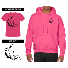 Leisure Wear - kopen - Hoody Sutemi Shocking Pink