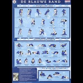 Accessories - KYU Cards - kopen - KYU Map Blue Belt