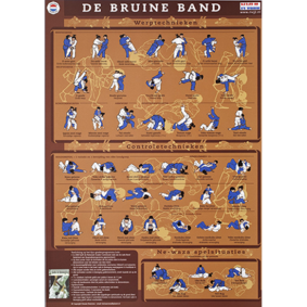 Accessories - KYU Cards - kopen - KYU Map Brown Belt