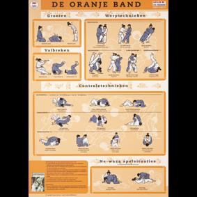 Accessories - KYU Cards - kopen - KYU Map Orange Belt