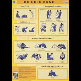Accessories - KYU Cards - kopen - KYU Map Yellow Belt
