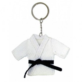 Accessories - Gadgets and Gift Items - kopen - Key Ring Judosuit White Temporarily Sold Out