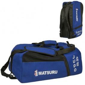 Sports Bags - Judo Bags - kopen - Matsuru Judo Bag Honeycombed Cotton Blauw