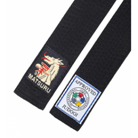 Black Judo Belts - Judo Belts - kopen - Matsuru Judo Belt Black IJF Approved