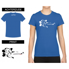 Leisure Wear - kopen - T-shirt Gatame Women Blue