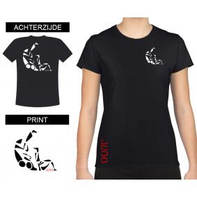 Leisure Wear - kopen - T-shirt Sutemi Women Black